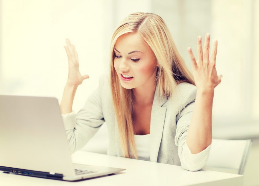 Mange føler sig både stressede og skuffede, når de prøver at være mere synlige på de sociale medier